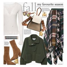 A fashion look from October 2017 featuring MANGO jackets et Sacai skirts. Browse and shop related looks.