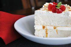 Angel Food wedding cake recipe...sounds wonderful :-)