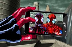 Spider Selfie by JonathanPiccini-JP   ... Ultimate  Spider-Man and Spider-Man ...