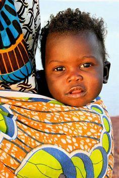 Mali #porteo #portabebé