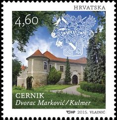 ASTLES OF CROATIA - CERNIK Interesting Buildings, Postage Stamps, Mansions, Architecture, House Styles, World, Pictures, Culture, Christmas