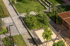 Parks, Sidewalk, Landscape, Scrappy Quilts, Scenery, Side Walkway, Walkway, Corner Landscaping, Walkways