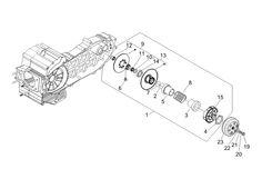 Ersatzteile Piaggio MP3 400 IE 2007-2008 Brakes pipes