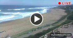 Veduta della Dolphin Coast dalla spiaggia di Ballito