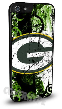 Green Bay Packers Cell Phone Hard Case for iPhone 6, iPhone 6 Plus, iPhone 5/5s, iPhone 4/4s or iPhone 5c