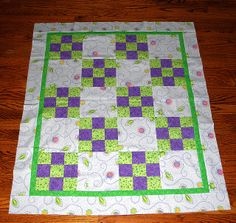 nine patch quilts | Ladybug Nine Patch Quilt | Flickr - Photo Sharing!