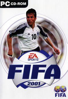 FIFA 2001 Cover Photo Fifa Games, Pc Games, Fifa Soccer, Working Games, Ea Sports, Cover Photos, Captain America, Baseball Cards, Superhero