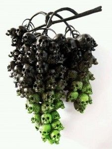 Goth Grapes. Now that I've never thought of before!