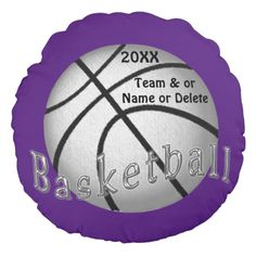 Girls Basketball Team Gifts with Your  Team or Players NAME, NUMBER. And Change COLORS or the TEXT and BACKGROUND. HTTP://www.Zazzle.com/LittleLindaPinda*. Call Linda for Help or to make custom changes. 239-949-9090