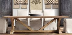 Awesome Restoration Hardware Dining Table 14 About Remodel Small Home Decor…
