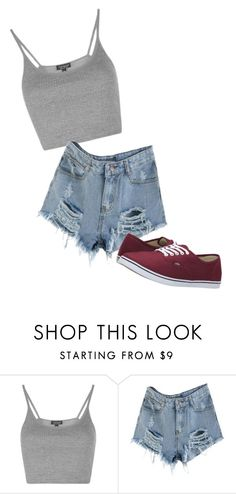 """Under 50$"" by tierney-michalski ❤ liked on Polyvore featuring Topshop, Vans and Dressunder50"
