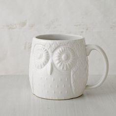 adorable owl mug