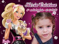 Tema Barbie - Ima de geladeira da Kezia