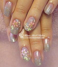 Miles de Diseños de Uñas: Diseños de uñas para novias Super cute ♥