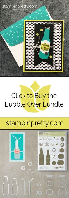 Click to Buy the Bubble Over Bundle by Stampin' Up! From Mary Fish, Stampin' Pretty. Shop Online 24 Hours a Day #maryfish #stampinpretty