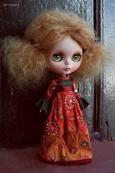70's #Blythe Doll customized by Erregiro