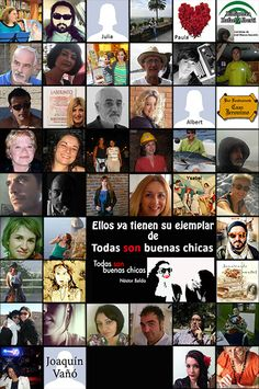 """Algunos de los lectores de """"Todas son buenas chicas"""". http://nessbelda.blogspot.com.es/p/comprar-todas-son-buenas-chicas.html"""