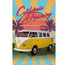 VW Camper Camper Van Poster