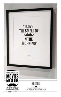 These Art Prints by Jacob Engberg Honor Film & Facial Hair #movember trendhunter.com