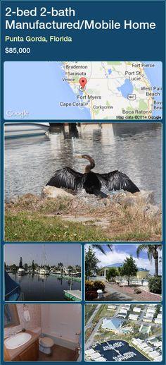 2-bed 2-bath Manufactured/Mobile Home in Punta Gorda, Florida ►$85,000 #PropertyForSaleFlorida http://florida-magic.com/properties/32297-manufactured-mobile-home-for-sale-in-punta-gorda-florida-with-2-bedroom-2-bathroom