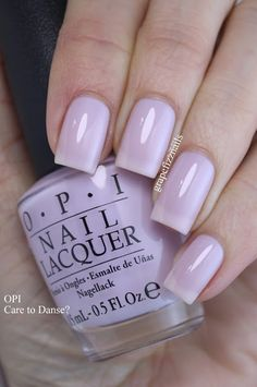 Hey Dolls! I picked up an OPI from Winners the other day that I have always loved. I use to own a mini bottle of it, so I was so happy to find a big bottle! OPI Care to Danse? is from the OPI NYC Bal