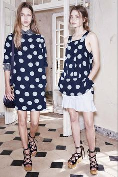 See by Chloé Spring 2015 Ready-to-Wear - Collection - Gallery - Look 1 - Style.com POLKA DOTS