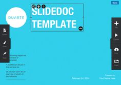 Duarte SlideDoc Presentation Templates Content Rich Projects!
