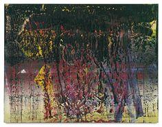 Gerhard Richter. A B, ST. JAMES.  Oil on canvas. 78 ¾ x 102 3/8 in. 200 x 260 cm.