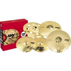 Sabian 15005XEB-NB HHX Evolution Performance Cymbal Set without Bag *** Click on the image for additional details.