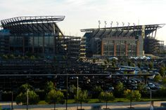 Lincoln Financial Field - the world's most renewable-energy powered sports stadium. http://www.power-technology.com/features/featuregreen-clean-mean---the-worlds-most-environmentally-friendly-sports-stadiums-4278520/