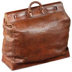 All-Leather 'Steamer' Bag by Louis Vuitton (France, 1910) | 1stdibs