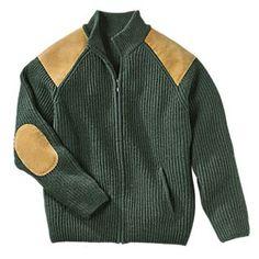 Irish Wool Military Cardigan | National Geographic Store