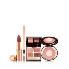 Charlotte Tilbury, Mascara, Pillow Talk Lipstick, Eye Makeup Brushes, Jojoba, Pink Pillows, Pink Lipsticks, Natural Lips, Makeup Set