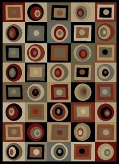 Concord Global Soho Rounds and Squares Rugs | Rugs Direct