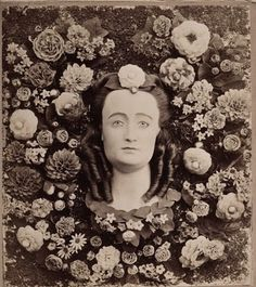 victorian mourning flowers made of human hair.