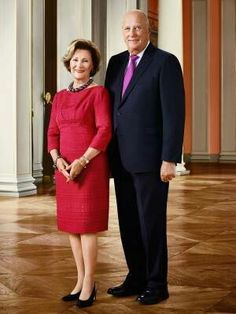 Queen Sonja and King Harald of Norway 2016