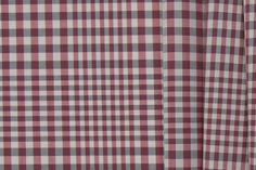 Britex Fabrics -  Muted Red & Black Checked Shirting Cotton - Midweight - Cotton - Fabric