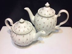 Thistle coffee pot and tea pot