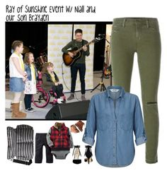 """ROS Event w/ Niall and Brayden"" by kateremington-1 ❤ liked on Polyvore featuring J Brand, Miss Selfridge, Nine West, Carter's, H&M and Kate Spade"
