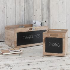 Pomme solid wood storage boxes for kitchen or study Wooden Storage Crates, Wood Storage Box, Crate Storage, Storage Containers, Blackboard Paint, Apple Crates, Craft Fair Displays, Comfy Sofa, Small Boxes