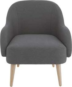 Buy Habitat Momo Charcoal Armchair at Argos.co.uk - Your Online Shop for Armchairs and chairs.