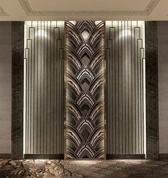 Working on a hotel lobby furniture interior design project? Find out the best fu. Art Deco Hotel, Lobby Design, Luxury Interior, Interior Architecture, Interior Design, Art Deco Design, Wall Design, Interiores Art Deco, Lobby Furniture
