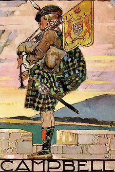 """The tune of the Scottish Clan, Campbell performed on the bagpipes. This is an example of """"Ceol Beag"""" as opposed to a """"Ceol Mor"""". Campbell Tartan, Campbell Clan, Castle Campbell, Scottish Clans, Scottish Tartans, Inveraray Castle, Le Clan, My Family History, Celtic Designs"""