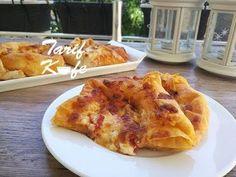 Hazır Yufkadan Pizza Börek Yapımı - YouTube