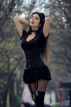 Gothic and Amazing — Model: Electra Nox