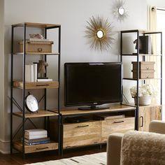 "Takat Natural Mango Wood 49"" Tv Stand"