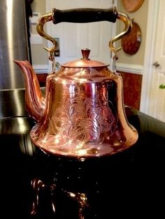 tall (includes handle in upright position) vintage tea pot!