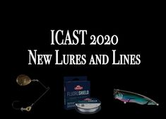 This year's ICAST fishing tackle trade show is taking place online, and we're bringing you some of the highlights in the various categories of lines, lures, rods, reels, apparel and gear. Sport Fishing, Fishing Tackle, Fishing Lures, Saltwater Fishing Gear, Fishing Magazines, Highlights, Accessories, Fishing Rigs, Fishing Equipment
