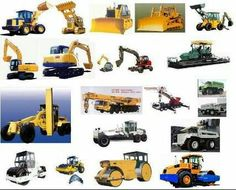 Road construction equipment list in Nigeria Construction Safety, Heavy Construction Equipment, Construction Machines, Construction Types, Heavy Equipment, Argon Welding, Welding Courses, African House, Safety Courses