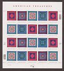 US,3524-27,AMISH QUILTS,FULL SHEET,2001,MINT NH,VF - NHVF, QUILTSFULL, SHEET2001MINT, US352427AMISH